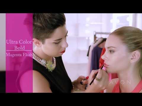 Avon Ultra Color Bold Ruj ile Cesur Dudaklar: Dudak Sanatı / Işıltılı Dudaklar