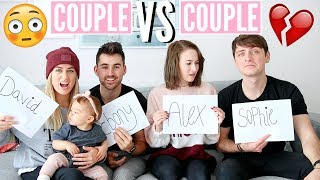 MOST LIKELY TO... COUPLE vs COUPLE (with OUR TINY TRIBE) | Sophie Louise