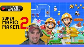 Super Mario Maker 2 - Live Streaming Requests! Nelson Family Gaming