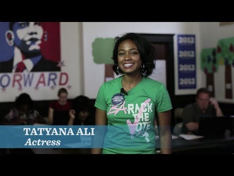 "Tatyana Ali: ""Let's win it in the Buckeye State."" - OFA Ohio"