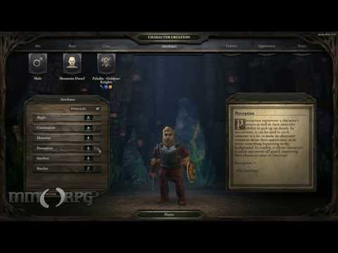 Pillars of Eternity - Backers Beta Early Gameplay Video