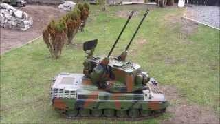 German 1:6 Scale Gepard Tank