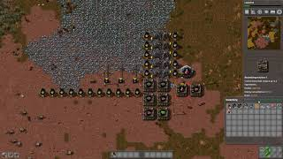 Factorio bot-speedrun to Electronics in 12 minutes (TAS, any%)