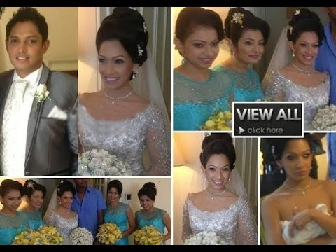 Nehara Peiris And Menaka Rajapakse Wedding Day 2014-01-28 video