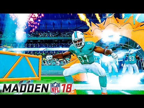 Madden NFL 18 - Team Intros & Weather Options (Frostbite Engine Graphics Gameplay)