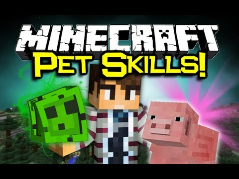 Minecraft USEFUL PETS MOD Spotlight! - Super Slimes & Power Pigs! (Minecraft Mod Showcase)