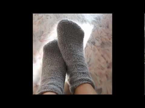 Спиральные носки спицами (промо)