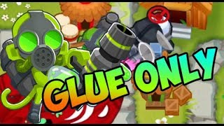 Bloons TD 6 - GLUE GUNNERS ONLY! How Far Can We GET?!