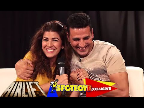 Akshay Kumar & Nimrat Kaur's EXCLUSIVE Interview | Airlift | SpotboyE