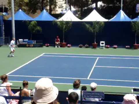 LA Tennis Open Carsten Ball Dmitry Tursunov