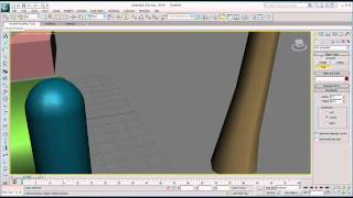 Architectural tutorial on 3ds Max - Object  Presets