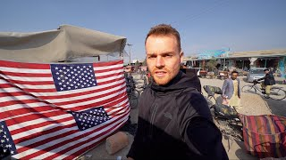 SIGNS OF U.S.A. ON STREETS OF AFGHANISTAN (Extreme Travel Afghanistan)