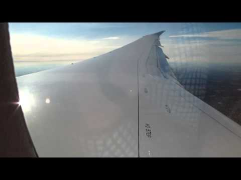 United 787 Dreamliner First Flight to Chicago O'hare - Descent & Landing