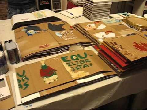 Haciendo libros cartoneros editorial ultramarina c d - Como hacer un libro hueco ...