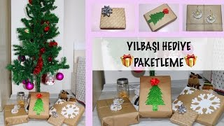 YILBAŞI HEDİYE PAKETLEME  | DIY Christmas Wrapping Ideas