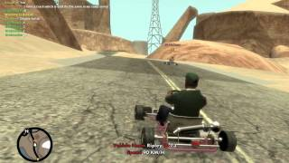 Gta iv san andreas multiplayer Go kart race