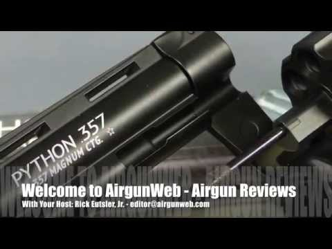 Colt Python CO2 BB Revolver by Umarex - Airgun Review by Rick Eutsler / AirgunWeb.com