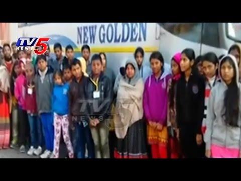 Mancherial Bhashyam School Students Stuck In Himachal Pradesh   TV5 News