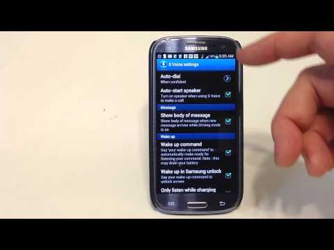 Samsung Galaxy S3 S Voice Siri Like Command and Features Review