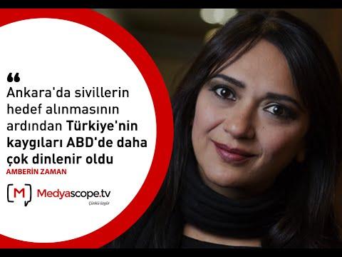 """Amberin Zaman: """"Türkiye'nin kaygıları ABD'de daha çok dinlenir oldu"""""""