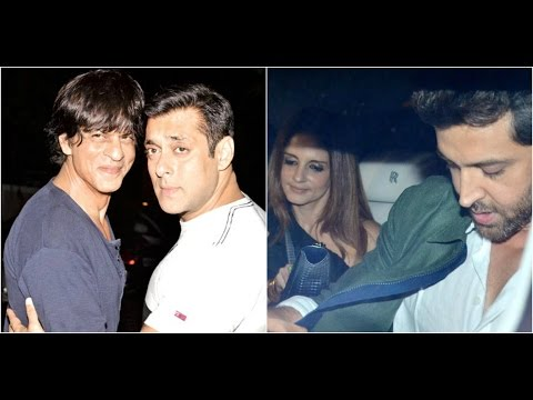 Shahrukh & Salman To Share Screen In 'Tubelight'  Hrithik Celebrates Birthday With Family & Friends