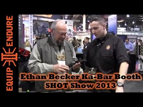 SHOT Show 2013, Ethan Becker Interview, Ka-Bar Booth
