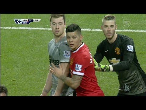 David De Gea Vs. Burnley 14-15 [Home] [HD 720p]