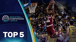 Top 5 Plays - Tuesday - Gameday 6 - Basketball Champions League 2018-19