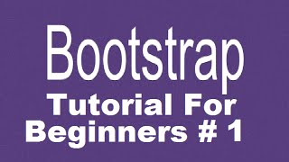 Bootstrap Tutorial For Beginners 1 How To Download And Install Bootstrap Introduction VideoMp4Mp3.Com