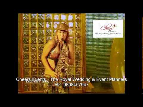 Dreamy Sax Act Performance For Indian Hindu Wedding International Entertainment & Corporate Event video