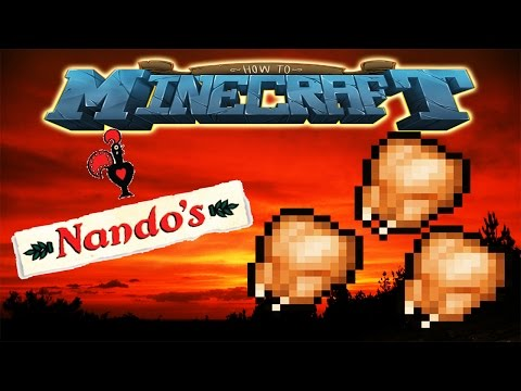 How To Minecraft NANDOS CHICKEN 19