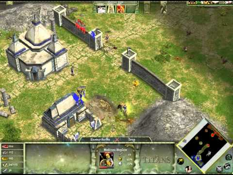 Age of Mythology, Greetings From Greece - hardest walkthrough 1 of 2