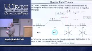 Chemistry 107. Inorganic Chemistry. Lecture 26.
