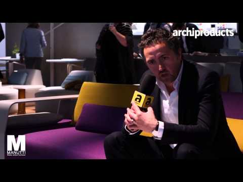 MANUTTI | Jérome Prudhomme | Archiproducts Design Selection - Salone del Mobile Milano 2015
