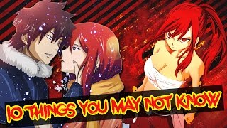 10 Things You Didn't Know About Erza Scarlet (Probably) - Fairy Tail