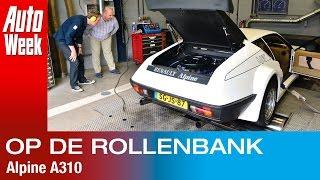 Op de Rollenbank - Alpine A310