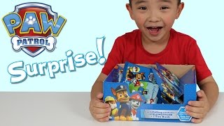 Paw Patrol Toys Surprise Blind Bags Opening Fun With Ckn Toys Chase Marshall Rocky