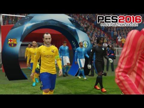 El Mejor Partido de La UEFA Champions League - PES 2016