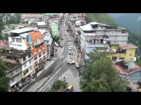 THE GANGTOK ROPEWAY IN FULL HD
