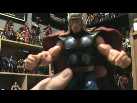 marvel legends toy review: iron man, hulk, thor, and thing Video
