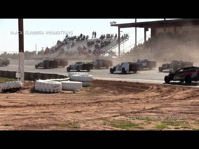 Central Arizona Speedway- Xmod Main March 8th 2015