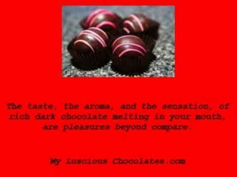 Dark Chocolates Are Good For You!