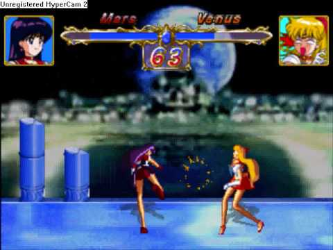 Sailor Moon Super S PSX Sailor Mars VS Sailor Venus