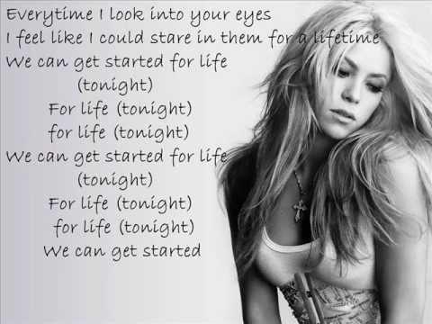 Pitbull feat Shakira - Get It Started  LYRICS [NUEVO] [2012] New Song OFFICAL