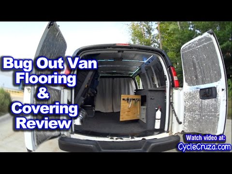 Bug Out Van Flooring and Covering Review