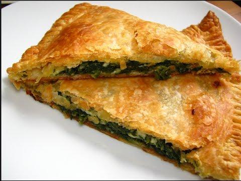Receta de Empanadas de Espinaca y Requeson