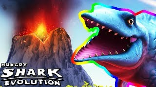 MR. SNAPPY IN THE VOLCANO (HUNGRY SHARK EVOLUTION)
