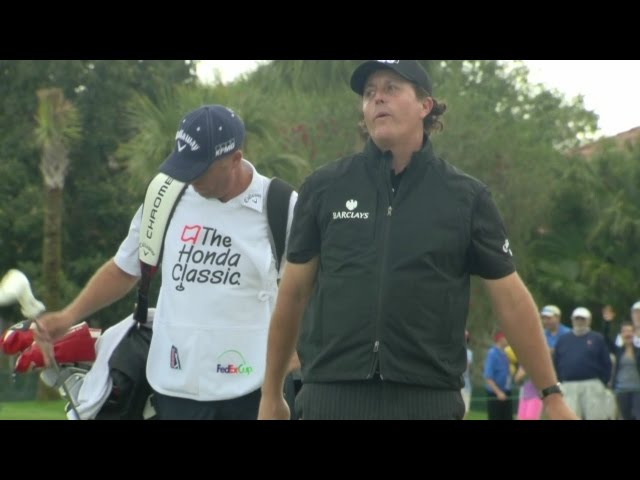 Phil Mickelson featured in LIVE@ The Honda Classic highlights from Round 2