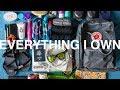 EVERYTHING I OWN | minimalist full-time travel