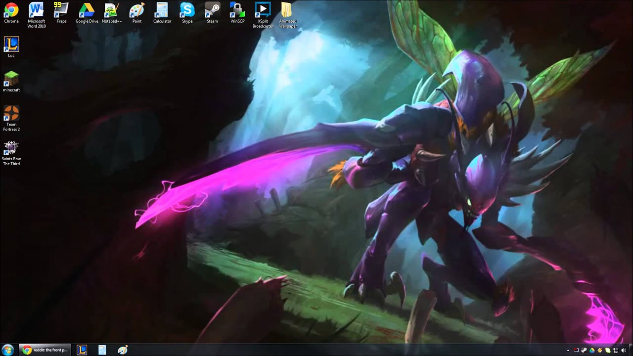 lol yasuo live wallpaper